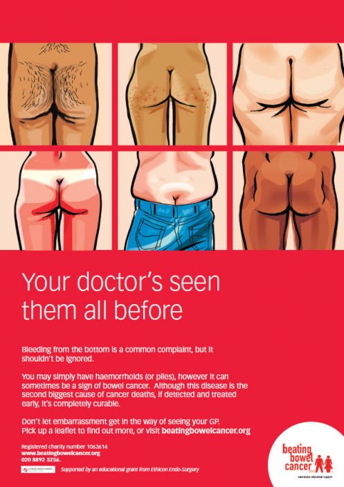 Beating Bowel Cancer Direct marketing