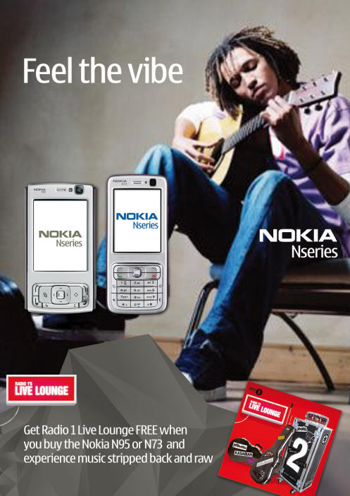 Nokia B2B & retail marketing
