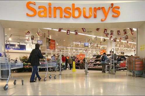 Sainsbury's Retail, promotional & direct marketing